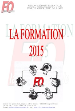 Formation 2015